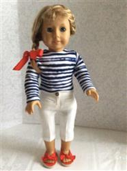 Mae Lynn Beck verified customer review of Cropped Sweater 18 Doll Clothes Pattern