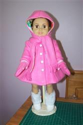 Joy S. verified customer review of Hooded Scarf & Mittens 18 Doll Accessories