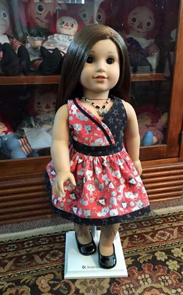 Barbara Toop verified customer review of Blue Moon Halter Dress 18 Doll Clothes Pattern