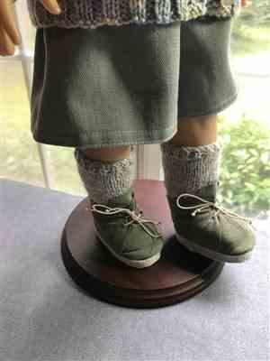 keroack, k. verified customer review of No-Sew Desert Boots 18 Doll Shoe Pattern