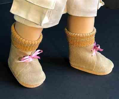Sewbig verified customer review of No-Sew Desert Boots 18 Doll Shoe Pattern
