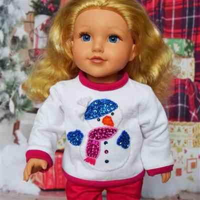 Elizabeth Hare verified customer review of Too Cute to be Ugly Sweaters 18 Doll Clothes