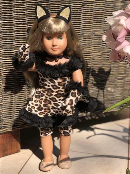 Hannah Witt verified customer review of Kitty Cabaret Costume 18 Doll Clothes Pattern