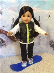 Melangell verified customer review of Snow Pants 18 Doll Clothes Pattern