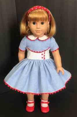 Sewbig verified customer review of 50s N Saturdays Best 18 Doll Clothes Pattern