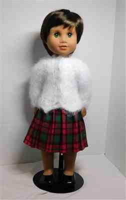 SUE WHEELER verified customer review of Karina's Cozy Sweater AGAT Doll Knitting Pattern