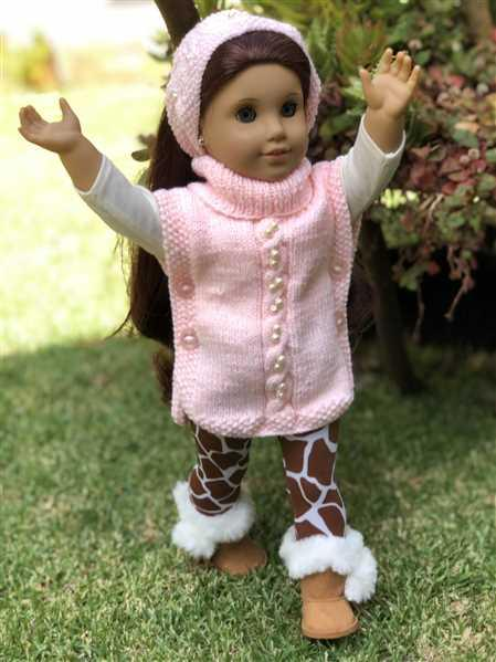 Hannah Witt verified customer review of Pearly Poncho 18 Doll Knitting Pattern