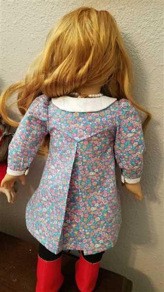 Amanda Hubbard verified customer review of School House Frock 18 Doll Clothes Pattern