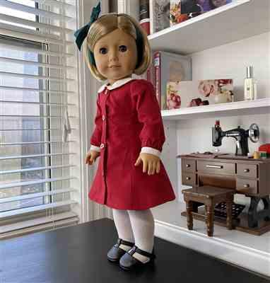 Patricia Sears verified customer review of School House Frock 18 Doll Clothes Pattern