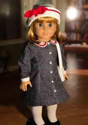 Sewbig verified customer review of School House Frock 18 Doll Clothes Pattern
