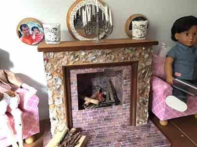 Elizabeth Stark verified customer review of Crafter-Friendly Fireplaces for 14 - 19 Dolls