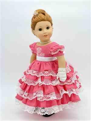 Patricia Sears verified customer review of 1850s Promenade 18 Doll Clothes Pattern