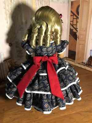 Sewbig verified customer review of 1850s Promenade 18 Doll Clothes Pattern