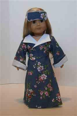 pat P verified customer review of Kyoto 1940s Kimono Robe 18 Doll Clothes Pattern