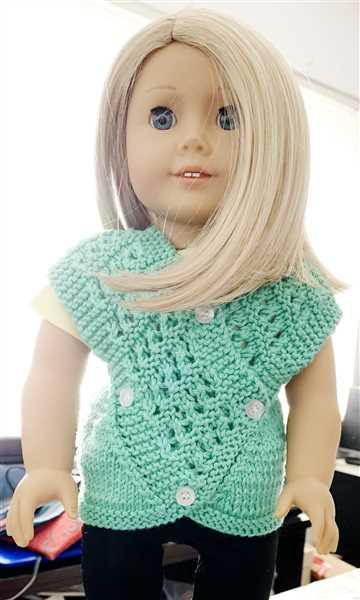 Kathy Keller verified customer review of Ann 18 Doll Knitting Pattern