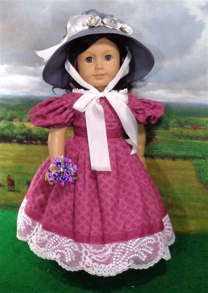 keroack, kathleen  verified customer review of The Beret Sleeve Dress 18 Doll Clothes