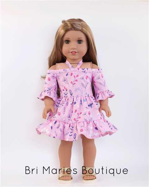 Amy Schneider verified customer review of Wildflower Dress 18 Doll Clothes Pattern