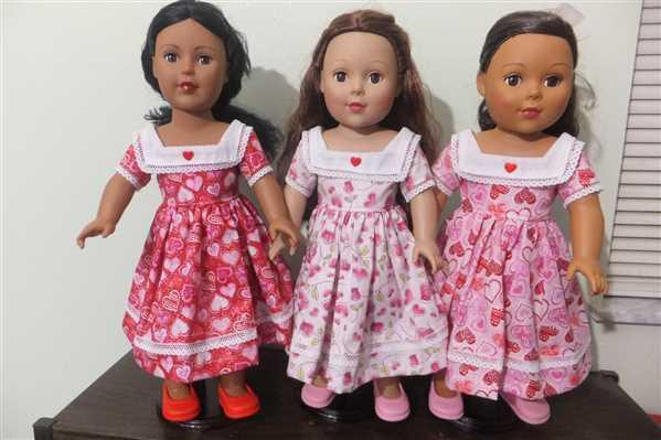 Elizabeth verified customer review of Little Miss Bertha 18 Doll Clothes