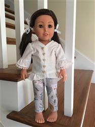 Karen B. verified customer review of Design Your Own Trendy Tunic 18 Doll Clothes Pattern