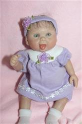 Julie C. verified customer review of Jessica Round Yoke Dress 18 Doll Clothes Pattern