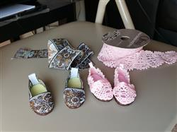Sharron Johnson verified customer review of No Sew Janes Shoes for Les Cheries and Hearts for Hearts Girls Dolls