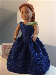"Laura verified customer review of Statement in Taffeta dress 18"" Doll Clothes"