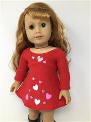 Sherri M. verified customer review of Tri-City Knit Dress & Circle Leggings 15 Doll Clothes Pattern