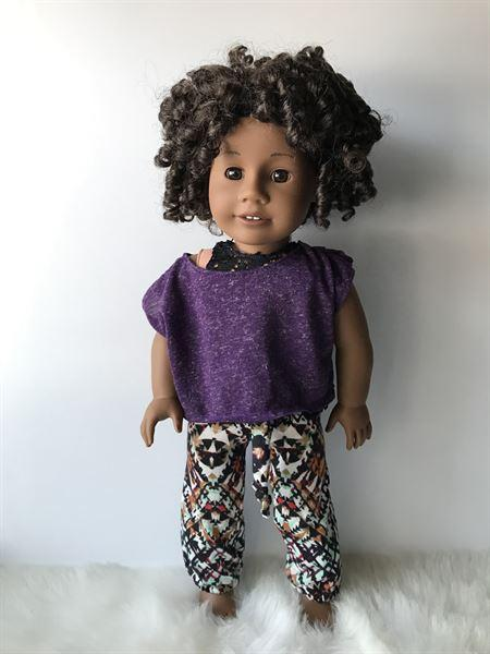 Heather Roy verified customer review of Chuba Pants 18 Doll Clothes
