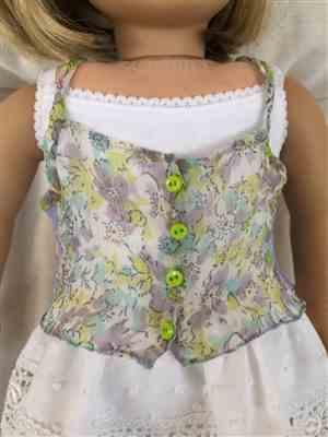 "Sue C. verified customer review of Roebuck Bay Lace Back Top 18"" Doll Clothes Pattern"