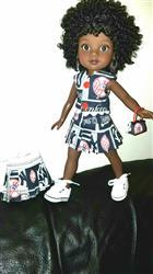 Sharron Johnson verified customer review of Pleated Skirt 14.5 Doll Clothes Pattern