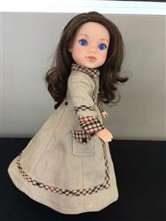 Melangell verified customer review of Long Winter Coat and Hood 14.5 Doll Clothes Pattern