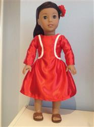 Doris Lum verified customer review of Lilibet Dress 18 Doll Clothes Pattern