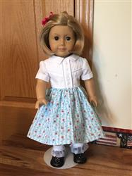 Ramona A. verified customer review of The Shelby Shirtwaist 18 Doll Clothes