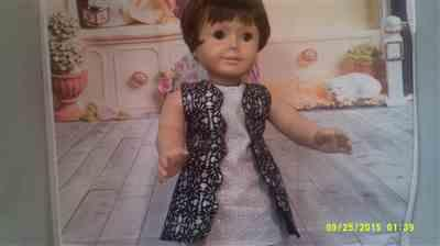 Kathy O. verified customer review of Scalloped A-line Dress 18 Doll Clothes Pattern