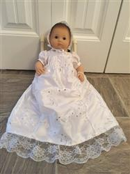 Angelica V. verified customer review of Christening Gown 15 Doll Clothes Pattern