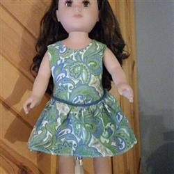 Randi H. verified customer review of Mackenzie Dress 18 Doll Clothes Pattern