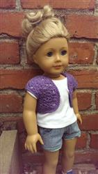 Diana V. verified customer review of Kimberly Shrug Crochet Pattern