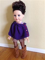 Leticia A. verified customer review of Kristin Cape Knitting Pattern