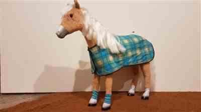 Michelle Rievaj verified customer review of Filly Horse Blanket and Accessories 18 Doll Pet Pattern