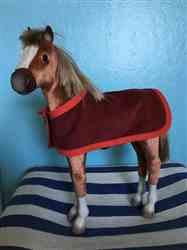 Joyce D. verified customer review of Filly Horse Blanket and Accessories 18 Doll Pet Pattern