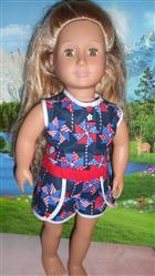 Judy H. verified customer review of Lace Dolphin Shorts 18 Doll Clothes
