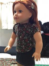 Anne N. verified customer review of Coronado Shirtdress and Top 18 Doll Clothes Pattern