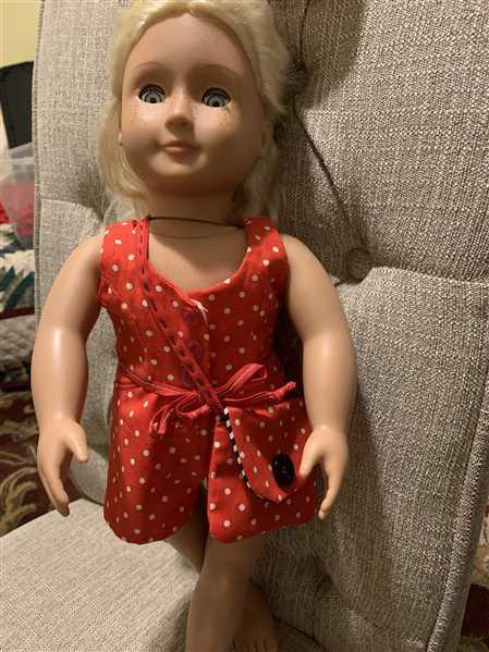 "Pixie Faire Surfrider Sundress and Romper 18"" Doll Clothes Pattern Review"
