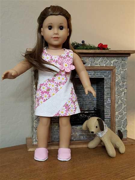 Mary Anne verified customer review of Ice-Cream Swirls 18 Doll Clothes Pattern