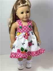 Mette K. verified customer review of Fun in the Sun 18 Doll Clothes Pattern