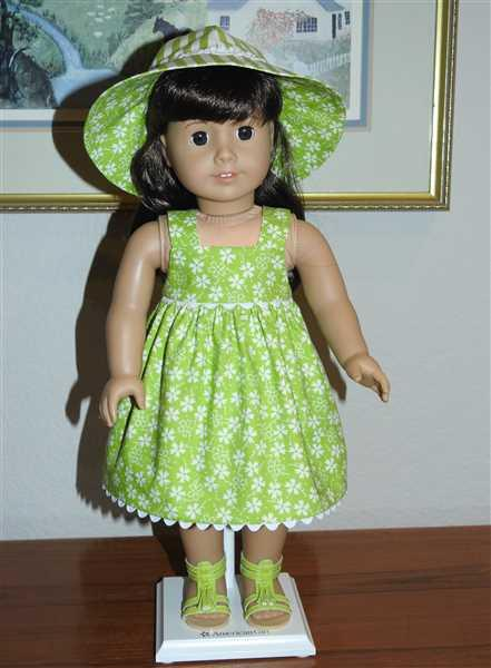 MC verified customer review of Fun in the Sun 18 Doll Clothes Pattern