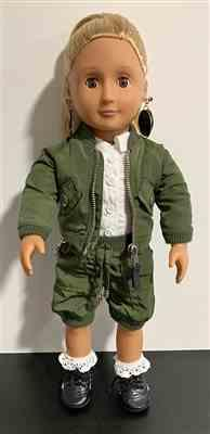 JULIA verified customer review of Avila Aviator Jacket 18 Doll Clothes Pattern