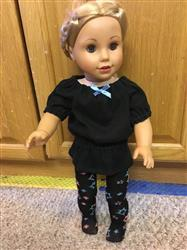 Joann S. verified customer review of U.K. Holiday Top and Leggings 14.5 Inch Doll Clothes Pattern