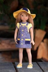 Becky Colvin (Graces Gifts/Sew-CoolSeparates) verified customer review of Faux Button Jumper 13-14.5 Doll Clothes Pattern