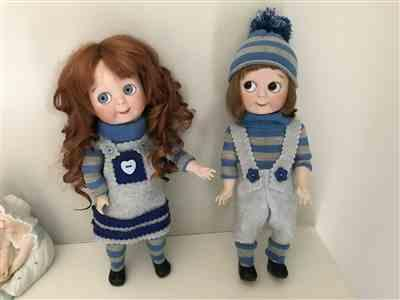 Hazel Mould verified customer review of Faux Button Jumper 13-14.5 Doll Clothes Pattern